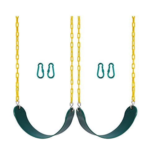 Heavy Duty Swing Seat Pack of 2-Free 2 Carabiners, used for sale  Delivered anywhere in USA