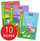 Peppa Pig Read it Yourself with Ladybird Collection 10 Books Set (Level 1-2) (Little Creatures, Fun at the Fair, Recycling Fun, The Family Computer, Daddy Pigs Old Chair, Nature Trail, Sports Day, Cam