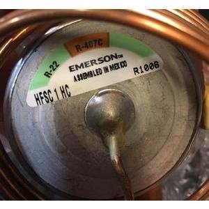 EMERSON/ALCO HFSC 1 HC/057468 1 TON ADJUSTABLE INTERNAL MEDIUM-TEMP TXV