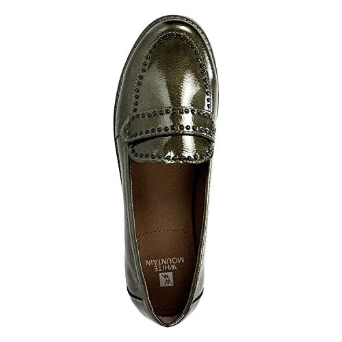 Witte Berg Willa Dames Loafer Tin