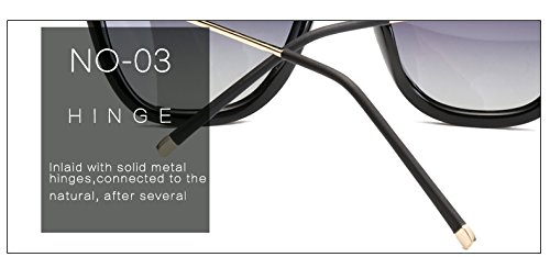 Femenino Fygrend Sun Ojos de de Sol Color Imprimir Gato Luxury polarizadas Mujer de de Gafas Gafas HD Grises de Rosa Marca vidrios Lente luneta de Original Sombras TR90 p¨²rpura rOqwrZ