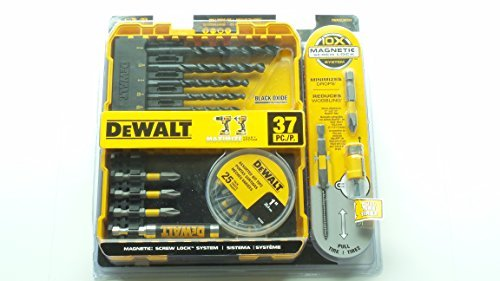 Maxfit Black Oxide Drill and Screwdriving Set (37-Piece)