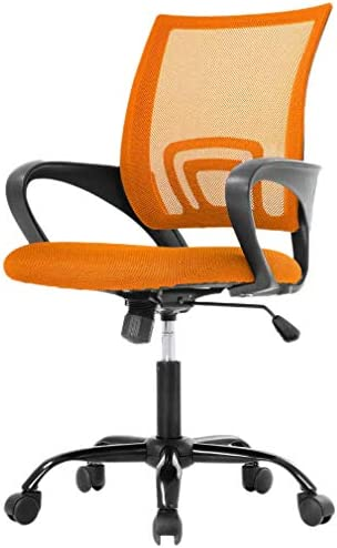 Office Chair Mid Back Swivel Ergonomic Chair Mesh Executive Office Chair