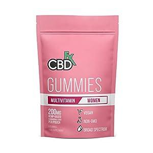 CBDfx Women's Multivitamin CBD Gummies (8 Gu...