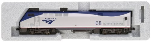 Kato USA Model Train Products #68 GE P42 Genesis Locomotive Amtrak Phase VB Train Car