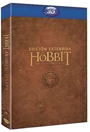 El Hobbit: Un Viaje Inesperado Edición Extendida Blu-ray: Amazon ...