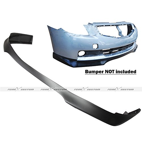 (Remix Custom 2008-2009 Nissan Altima 2 Door Coupe RA Style Front Body Bumper Lip Spoiler Kit PU)