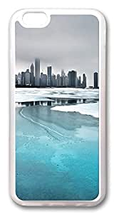 ACESR Frozen City Kawaii iPhone 6 Cases, TPU Case for Apple iPhone 6 (4.7inch) Transparent by lolosakes