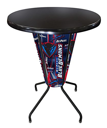 Lighted Outdoor Stool Table - 8