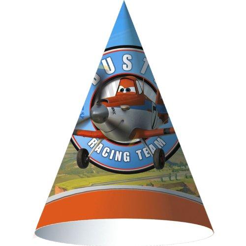 Disney Planes Cone Hats (8) by Hallmark (Dusty Crophopper Costume)