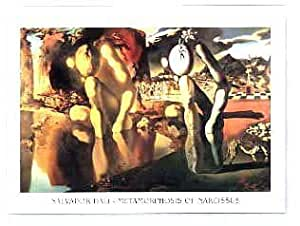 Diseño de 'Metamorphosis of Narcissus' Por Salvador Dalì–tamaño de imagen w 80cm x H 60cm