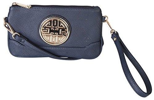 rimen-co-small-woman-cross-body-messenger-purse-handbag-with-wrist-strap-clutch-dh-2389-blue