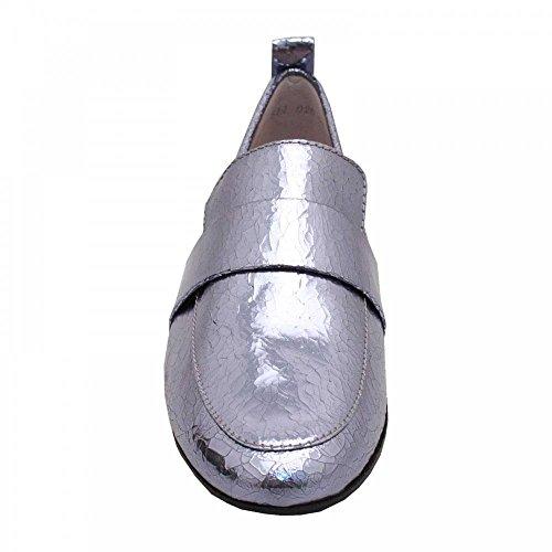 5 Metallic Blue Moccasin Schmenger Front Und Kennel 4 Slipon Shoe High vzPI6q