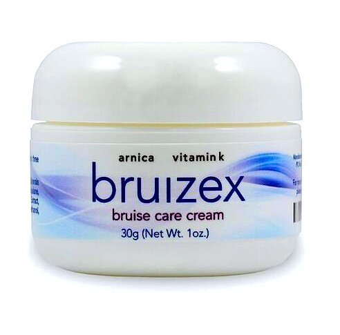 Bruizex Bruise Care Cream: Natural Arnica Montana and Vitamin K, Best for Reducing Skin Bruises, Pain and Swelling, Excellent Care for Easily Bruised Skin, Healing and Recovery after Surgery and Injur
