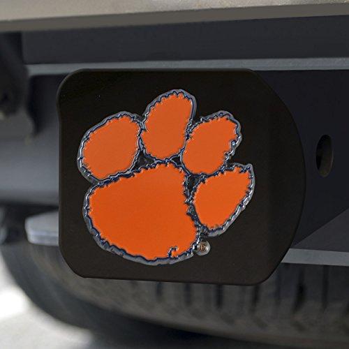 - FANMATS NCAA Clemson Tigers Clemson Universitycolor Hitch - Black, Team Color, One Size