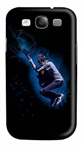 Crazy Music Custom Polycarbonate Hard Case Cover for Samsung Galaxy S3 SIII I9300