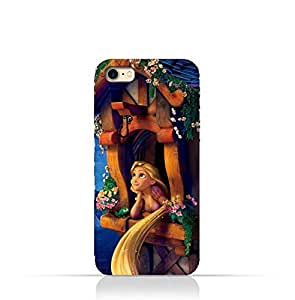iPhone 5 / 5s / SE TPU Silicone Protective Case with Rapunzel Design