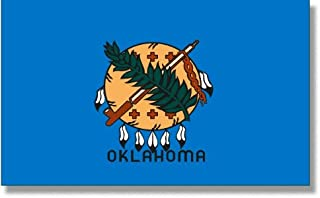 product image for 4x6' Oklahoma 2ply Polyester State Flag
