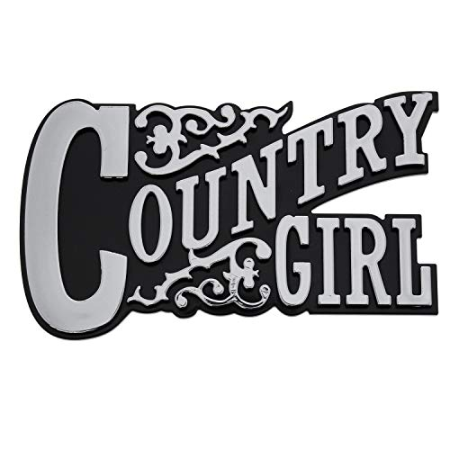 Pilot Automotive IP-3177 Easy Stick-On Country Girl Emblem ()