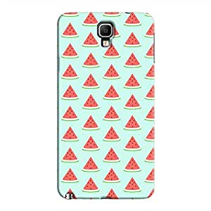Cover It Up Watermelon Samsung Galaxy Note 3 Neo Hard Case - Turquoise