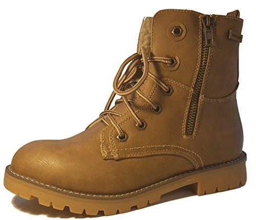 Zapatos de invierno, botas de invierno, zapatos de mujer, modello 1331400112013445, negro y marrón, diferentes modelos y tamaños. Marrón