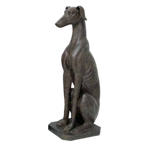 (TIC Collection 71-132 Sitting Greyhound Statues)