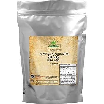Amazon com: Premium Organic Hemp-Oil Gummies 500mg for