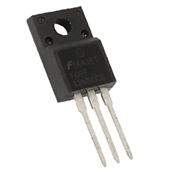 5PCS FQPF13N50C N-Channel MOSFET Fast Switching 13A 500V