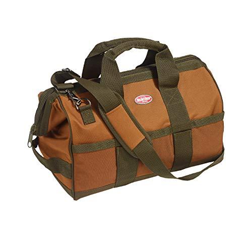 Bucket Boss Gatemouth 16 Tool Bag in Brown, 60016