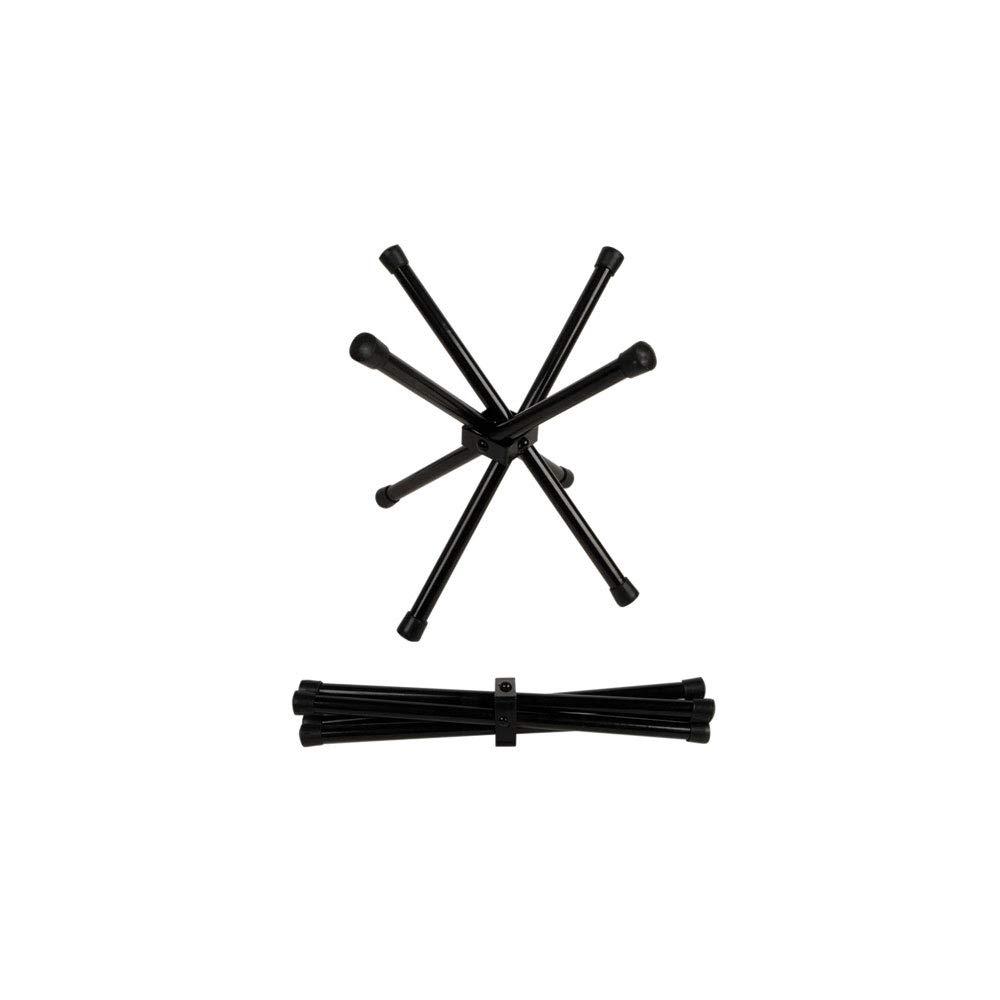OKSLO Chopstix black folding chopsticks stand 12 inch tall