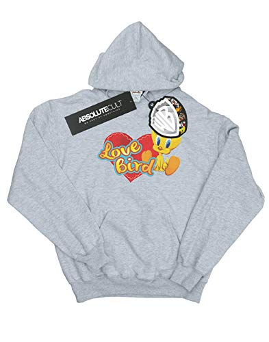 À Love Looney Gris Capuche Valentine's Tweety Pie Sweat Cult Day Femme Sport Tunes Bird Absolute wPx586qP