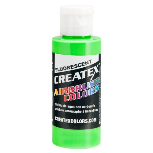 1 Gal. of Createx Fluorescent Green #5404-GL CREATEX AIRBRUSH COLORS Hobby Craft Art PAINT by Createx