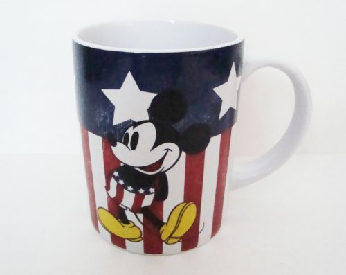 Mickey Mouse Coffee Mug (Disney Mickey Mouse American Mickey 14 oz Jumbo Mug)