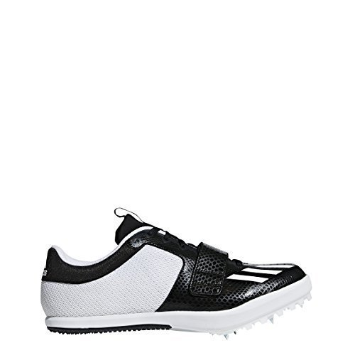 the best attitude c5e54 63467 adidas Jumpstar Cleat Mens Track 10.5 Core Black-White