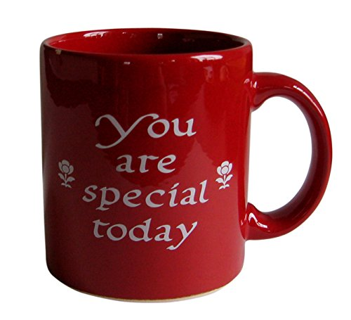Waechtersbach 01S4MG1903 You Are Special Today Mugs, Set of 4, Red