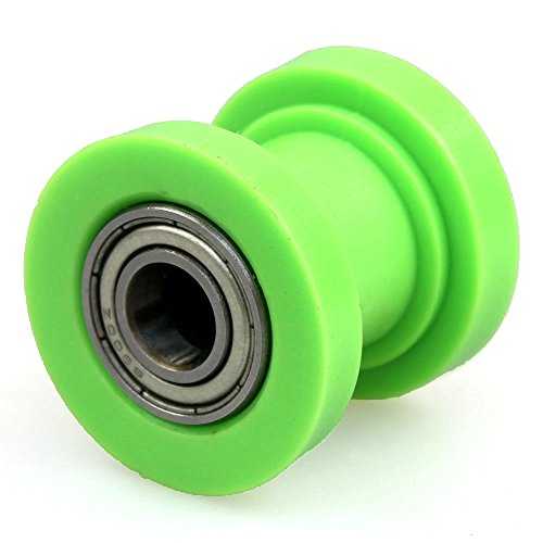 Wingsmoto Chain Roller 8mm ID Tensioner Guide Wheel Chinese Dirtbike Pit Bike Motocycle (Green) - Chain Tensioner Roller