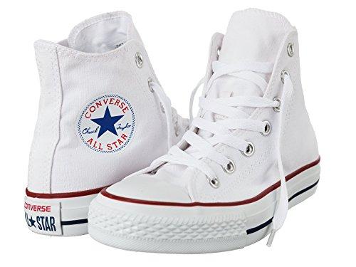 Converse Chuck Taylor All Star Adulte Seasonal Hi - Scarpe da Ginnastica Alte Donna Uomo , bianco (bianco), 40 EU