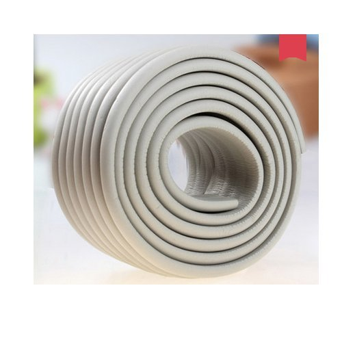 AUCH Extra Dense Furniture Table Wall Edge Protectors Foam Baby Safety Bumper Guard Protector, 2 Meters (6.5 Ft) Long 8 CM Wide (Headboard Pads Wall)