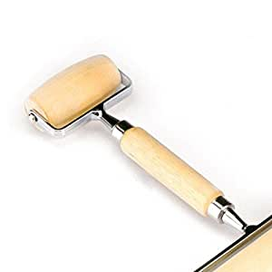 Norpro Double PASTRY ROLLER Deluxe Wooden for Pasta Pie Pizza Cookie Dough Nuts