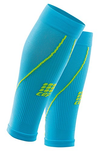 CEP Sleeve Cep Pro+ Calf Sleeves 2.0 - Calcetines HAWAII BLUE/GREEN