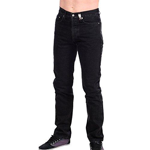 Harley Davidson Jeanshose, Damenjeans, Herrenjeans Fatboy A006A22114 black