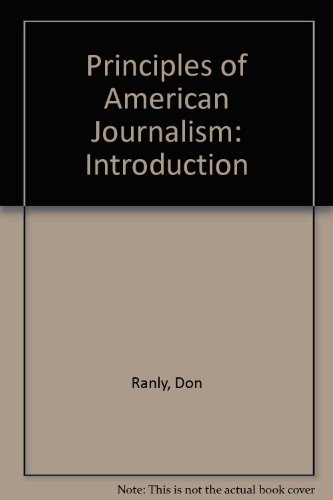 Principles of American Journalism: Introduction