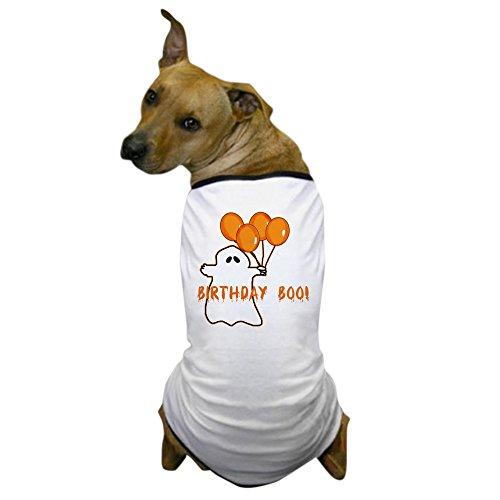 CafePress - Halloween Birthday Boo Dog T-Shirt - Dog T-Shirt, Pet Clothing, Funny Dog -
