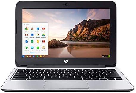 HP Chromebook 11 G3 11.6-inch Intel Celeron N2840 2GB 16GB SSD Storage Google Chrome OS Notebook Laptop (Renewed)