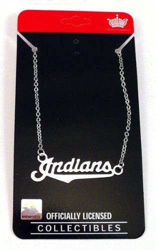 Cleveland Indians Script Team Necklace
