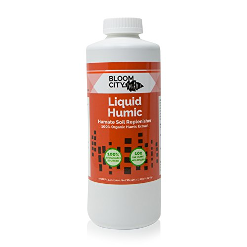Bloom City 100% Organic Liquid Humic Soil Replenisher Quart (32 ()
