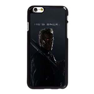Aj U4T45 terminador está de regreso película arnold héroe V7B5XQ funda iPhone 6 Plus 5.5 pufunda LGadas funda caja del teléfono celular cubren XF1IKP6RM negro