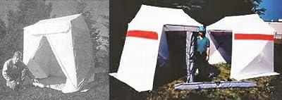 POP 'N' WORK Spacesaver Fiber Optic Splicing Tent 6' x 6' - Single Door