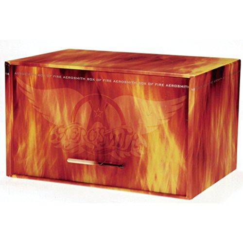 CD : Aerosmith - Box Of Fire (ltd Ed Box Set) (Limited Edition, Oversize Item Split, 13 Disc)