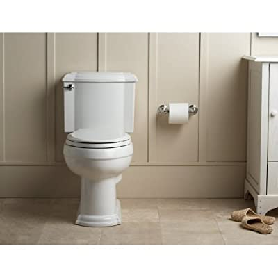 KOHLER Devonshire Comfort Height Two-Piece Elongated 1.28 gpf Toilet